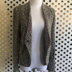 ST JOHN Gray Textured Jacket